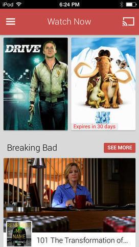 Une application Google Play Films et TV pour iPhone et iPad - Apple Mind | Apple : Mac, iPhone, iPad | Scoop.it