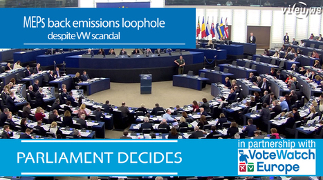 VIDEO: Car emissions: Commission to table new proposals | EU Environment | Scoop.it