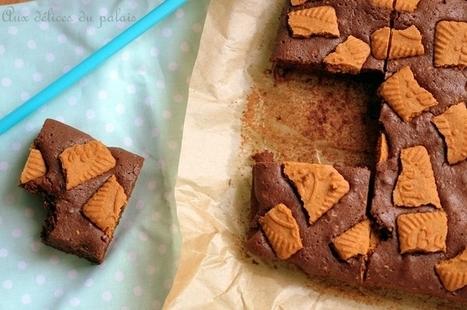 Brownie au spéculoos (recette facile) | Recette Dessert Gâteau & Cake | Scoop.it
