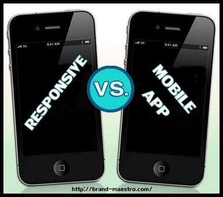 Responsive Website Design Vs Mobile App– Take Your Pick? | Latest Tips on Web Design & Development | Scoop.it