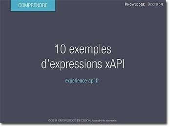 10 exemples d'expressions xAPI | Standards e-Learning : le blog | learning-e | Scoop.it