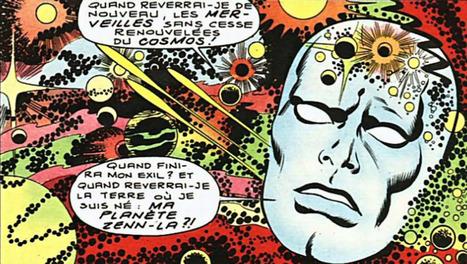 "70s Sci-Fi Art: sciencefictiongallery: Jack Kirby - Le... | Jack ""King"" Kirby | Scoop.it"