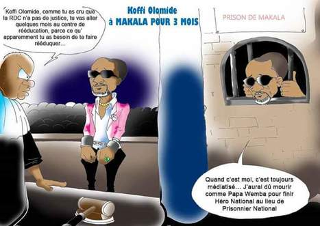 """RDC — Koffi Olomidé reste en prison, liberté provisoire refusée   Revue de presse """"Afrique""""   Scoop.it"""