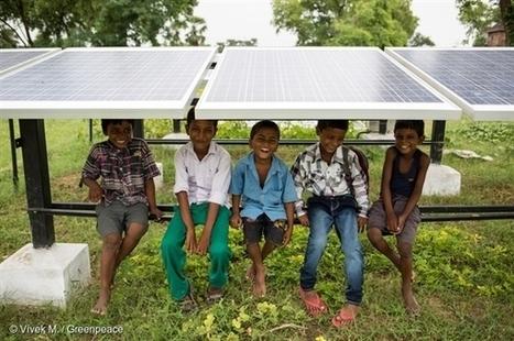 100% Renewable Energy by 2050? Why wait? | Greenpeace International | Algae | Scoop.it