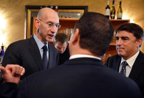 NBA commissioner Adam Silver: technology is key to basketball's future - The Boston Globe | Ad Vitam Basketball | Scoop.it