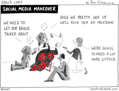 Social Media | Tom Fishburne: Marketoonist | The 21st Century | Scoop.it