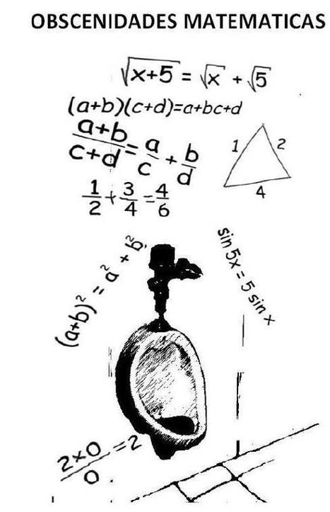 ¿Sabes que existen obsenidades matemáticas????   Mateconectad@s   Scoop.it