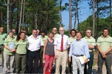Le nouveau président de l'ONF en visite au Petit Nice - Sud Ouest | Espaces naturels littoraux | Scoop.it