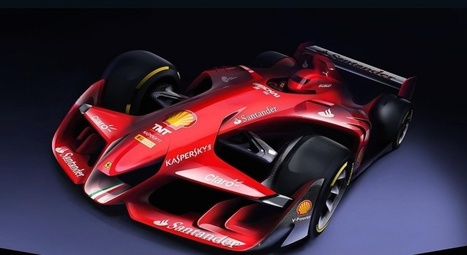 Ferrari asks what the future of Formula 1 could be with this design concept | Art, Design, Social Media, Sex & Hangovers | Scoop.it