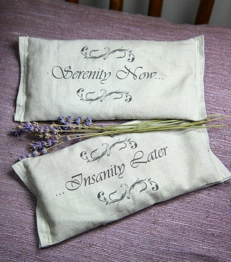 Last Minute Holiday Gifts Countdown Day 5: Lavender Eye Pillows | Annie Haven | Haven Brand | Scoop.it