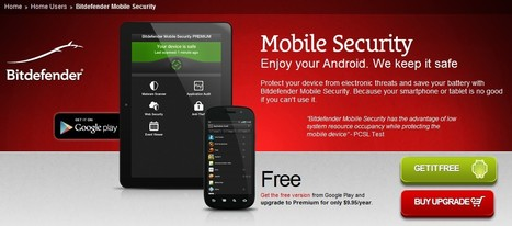Free Bitdefender Mobile Security for Android | ICT Security Tools | Scoop.it
