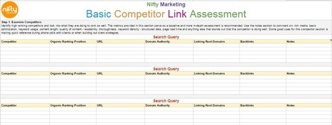 Competitor Link Building the Nifty Way | Online Marketing Resources | Scoop.it