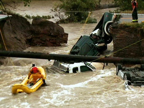 Colorado flooding cuts off mountain towns, kills 3 - CBS News | who is the tank | Scoop.it