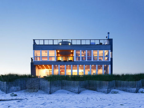 Dune Road Beach House by Resolution: 4 Architecture | DZGN | Beautiful Beach Houses | Scoop.it