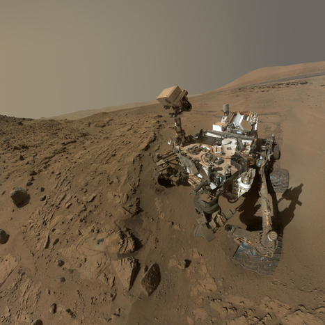 NASA's Mars Curiosity Rover Marks First Anniversary With New Selfie | STEM Education models and innovations with Gaming | Scoop.it