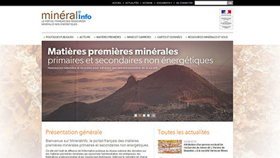 Minéralinfo : le portail français des ressources minérales non-énergétiques | Montagne - Environnement - Biodiversité - Climat | Scoop.it