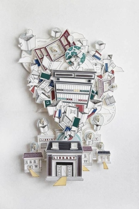 Inspiring Papercrafts: 50 Awesome Examples | Art & Creativity | Scoop.it