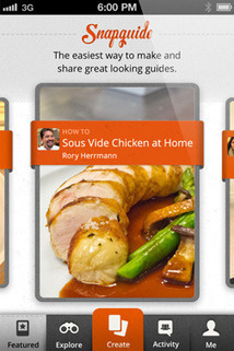 Snapguide free iOS app and web service for  Creative  Sharing  beautiful, step-by-step How- to Guides   teaching with technology   Scoop.it