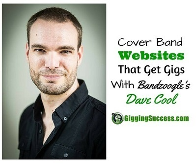 Cover Band Websites with Dave Cool of Bandzoogle   Gigging Success Tips for Cover Bands and Entertainers   Scoop.it