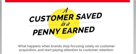 A Customer Saved is a Penny Earned (Infographic) | Surviving Social Chaos | Scoop.it