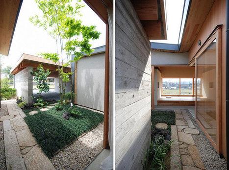 matsunami mitsutomo architect + associates: residence in kishigawa | architecture | Scoop.it