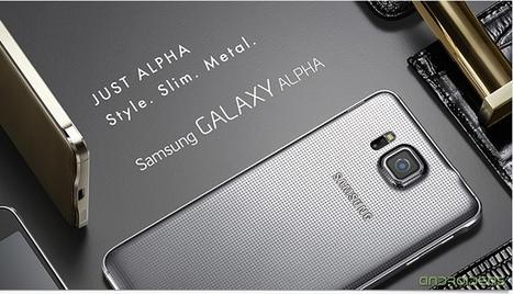 Así es el Samsung Galaxy Alpha | Androideas | Scoop.it