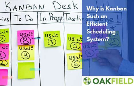 Why is Kanban Such an Efficient Scheduling System? : Oakfield Software | General Scoops | Scoop.it