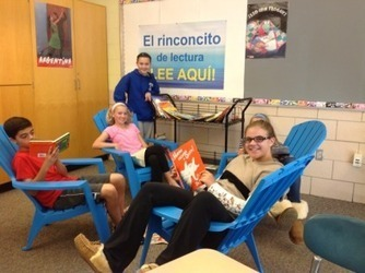 Blake Middle School Wins Grant for Spanish Reading Book Cart | Spanish in the United States | Scoop.it