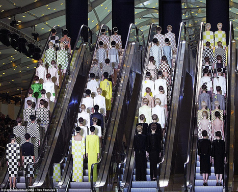 MARC JACOBS TAKES LV TO THE SIXTIES @ PFW | myproffs.co.uk - Entertainment | Scoop.it