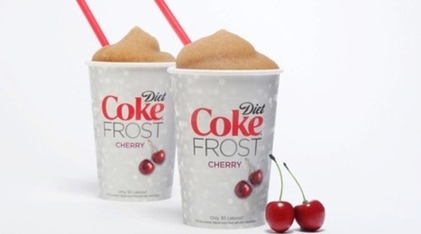 Diet Coke FROST: Brand's First Frozen Offering Hits Stores | Coca-Cola® New Products | Scoop.it