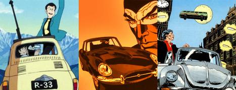 Gli eroi di fumetti e cartoon visti dalle 4 ruote | DailyComics | Scoop.it