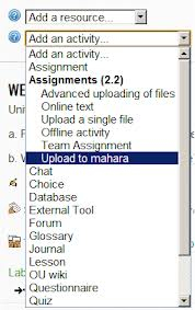 Using Moodle: Assignment assignsubmission_mahara plugin | Moodle and Web 2.0 | Scoop.it