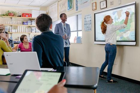 Les avantages pédagogiques de l'écran interactif | Courants technos | Scoop.it