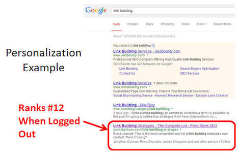 Google+ & SEO: How Google+ Impacts Search Results - Search Engine Watch | #TheMarketingAutomationAlert | SEO | Scoop.it