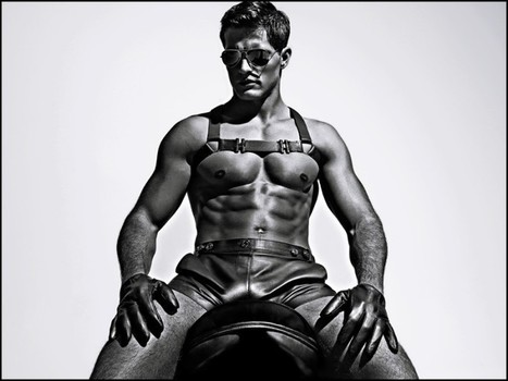 Charlie by Matthew Zink 2016 Leather Collection | THEHUNKFORM.COM | Scoop.it