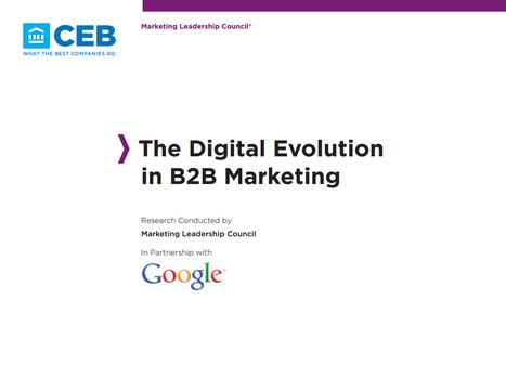 The Digital Evolution in B2B Marketing - Whitepaper [EN] | Time to Learn | Scoop.it