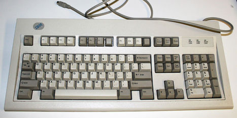 IBM 42H1292 Wired Clicky Keyboard **flawless/clean** Rare!!   Digital   Scoop.it