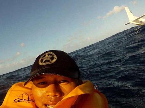 Plane Crash Survivor Takes Most Intense Selfie Ever | Photography | Scoop.it