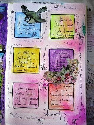 carnet de printemps - Fairyscrap | Petits carnets, livres et boites à secrets... | Scoop.it