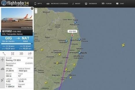 Realidad aumentada: Enfoca a un avión y la aplicación te dice de dónde viene, a dónde va… | ViniTolentino | Scoop.it