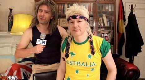 Assange filma 'spot' de campaña en Embajada - El Universo | Poder Popular | Scoop.it