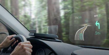 Projetez votre smartphone sur le parebrise avec Navdy | Vous avez dit Innovation ? | Scoop.it