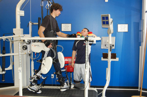 Lokomat Pro Gait Training System for Spinal Cord Injury and Stoke Recovery clients | Spinal Cord Injury Recovery | Scoop.it