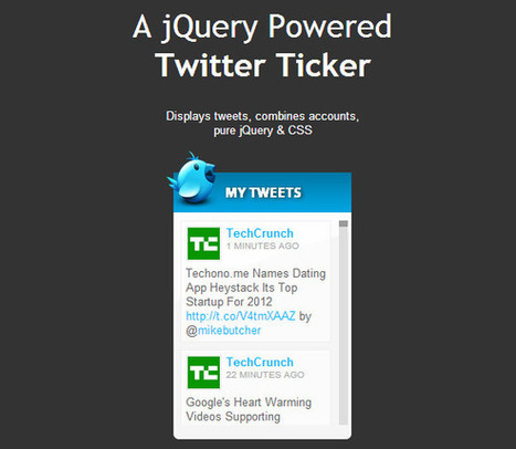 16 Newest and Best Twitter Hacks for Your WordPress Website | Online Marketing Resources | Scoop.it