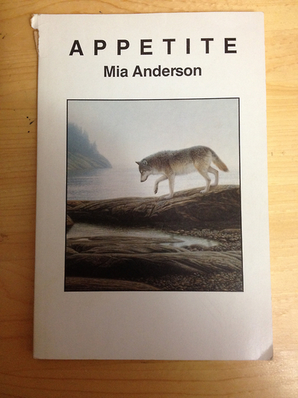 Title: Appetite Author: Nia Anderson Publisher:... - Canadian Poetry Covers | PARTICIPOET | Scoop.it