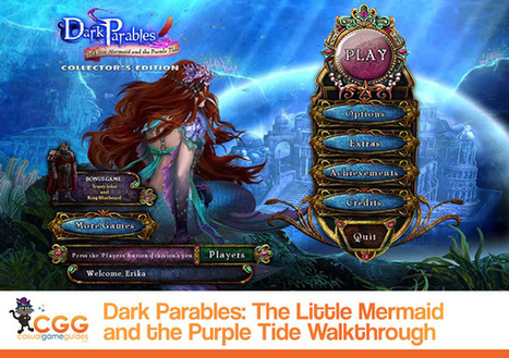 Dark Parables: The Little Mermaid and the Purple Tide Walkthrough: From CasualGameGuides.com | Casual Game Walkthroughs | Scoop.it