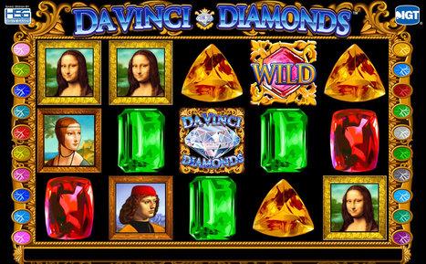 Celebrate the Renaissance with Da Vinci Diamonds Slots   Press Releases   Scoop.it