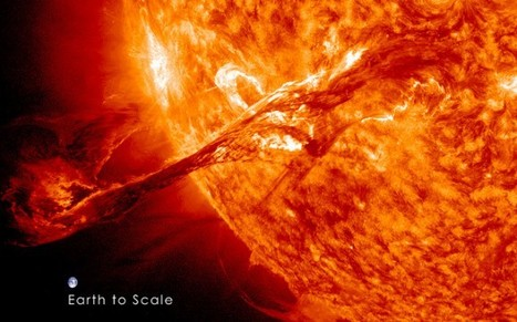Huge Eruption on the Sun Revisited in Spectacular HD [VIDEO] | Teaching Earth and Environmental Science | Scoop.it