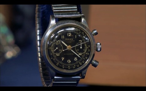 'Antiques Roadshow:' See the great story behind a rare rolex - AOL.com | Xposing e-commerce, fashion & unique items. | Scoop.it