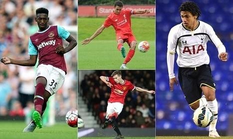 Next Generation 2015: 10 of the best young players at Premier League clubs – video | The cross field pass | Scoop.it